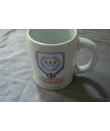 "Vintage 1984 Olympic Mug "" The Dream Begins with Freedom "" 7 Eleven - $14.84"