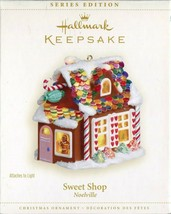 2006 Hallmark Keepsake Ornament - Noelville Sweet Shop - Light Gingerbre... - $14.84
