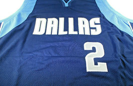 JASON KIDD / NBA HALL OF FAME / AUTOGRAPHED DALLAS MAVERICKS CUSTOM JERSEY / COA image 2