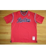 9J/RED BOSTON RED SOX STITCHES PULL OVER JERSEY/XL/SHORT SLEEVE! - $28.66