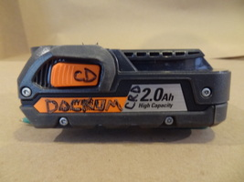 RIDGID 2.0 AH HIGH CAPACITY  CORDLESS BATTERY  ONLY R840086 RB40086 18V ... - $24.99