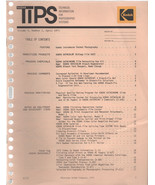 TIPS technical information for photographic systems magazine by Kodak Ap... - $2.50
