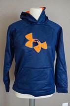 UNDER ARMOUR  Boys' UA Storm Armour Fleece Big Logo Blocked Hoodie sz Y... - $29.69