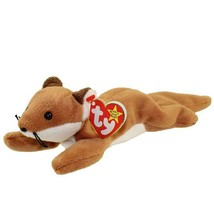 Sly The Fox TY Beanie Baby White Belly MWMT Collectible New - £4.28 GBP