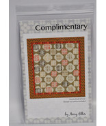 Amy Ellis Complimentary Quilt Pattern AE104 - $12.14