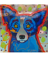 George Rodriguez Art oil painting printed on canvas home decor Dogs - $32.99