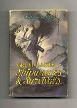 Great Lakes Shipwrecks and Survivals [Hardcover] [Jan 01, 1960] Ratigan, William
