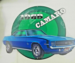 "19"" Chevy Chevrolet Camaro SS 396 muscle car embossed VTG USA Steel meta... - $89.00"