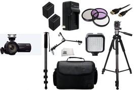 Sony Handycam NEX-VG30H Camcorder - Black Kit w/ Sony 18-200mm OSS Lens ... - $3,167.01
