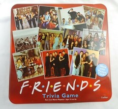 Friends TV Show 2003 Trivia Game Picture Cards in Collectible Red Tin COMPLETE - $16.53