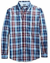 Tommy Hilfiger Boys' Woven Plaid Shirt Size L (16-18) - $25.73