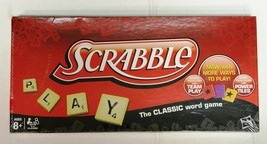 Scrabble Classic Word Game with New Power Tiles Hasbro 2012 - New in Box - $15.00