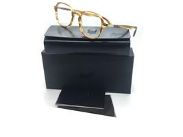 Persol Brown Eyeglasses PO 3142 V 1050 47 mm Designer  Demo Lenses - $96.03