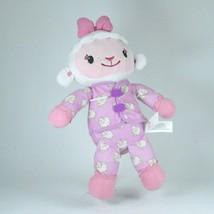 Disney Doc McStuffins Plush Sleepy Lambie Talks Sing Light Up Bow Purple... - $15.85