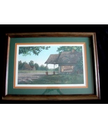 "Jim Harrison Framed Signed, Numbered Lt Edition Print ""Phillip Morris""  - $299.00"