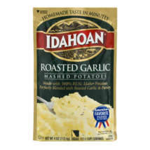 Idahoan Roasted Garlic Mashed, 4 oz Pouch - $2.25