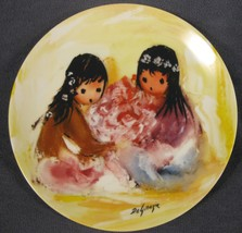 Spring Blossoms Collector Plate Children Of The Sun Ettore Ted DeGrazia ... - $21.95