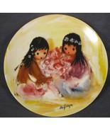 Spring Blossoms Collector Plate Children Of The Sun Ettore Ted DeGrazia ... - $21.95