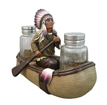 Native American Salt and Pepper Shaker Set By DWK by DWK Corporation - €21,14 EUR
