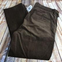 VINTAGE 90's NEW Polo Ralph Lauren Mens 33x32 Brown Corduroy Pants DEADS... - $47.48