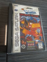 X-Men: Children of the Atom (Sega Saturn, 1996) Game Case and Manual - T... - $180.91 CAD