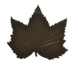 PANDA SUPERSTORE Maple Leaf Anti Slip Mat Non Slip Car Dashboard Mat BLACK