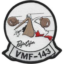 U.S. Marine Corps Marine Fighter Squadron VMF-143 Patch - REGIN CAJUN NE... - $11.87