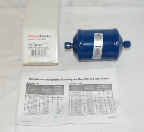 Emerson GD065833 Bi Directional Filter Drier Three Eighths Inch