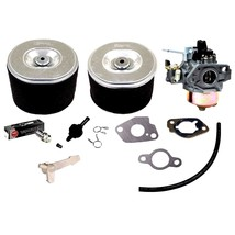 Carburetor Tune Up Kit Fits 16100ZH9W21 Carb Air Filters Gaskets Spark Plug - $64.58