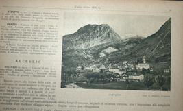 Antique Book 1934 Italy Spa Guide Part II Alpine Resorts Piemonte Photo Maps image 6