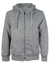 Men's Premium Athletic Soft Sherpa Lined Fleece Zip Up Hoodie Sweater Jacket image 10