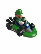Mario Kart Luigi Figure Race Car Nintendo DecoPac 2016 Cake Topper - $11.87