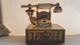 Western Electric Rotary Dial Victorian French Cradle Style Desk Telephone  - $34.65