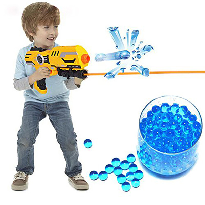 10000pcs colored orbeez soft crystal water paintball nerf gun bullet grow beads