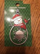 "Christmas Tree Ornament Snowman ""Mackenzie"" Vintage Rare Ships N 24h - $11.86"
