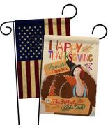 Perfect Side Dish - Impressions Decorative USA Vintage - Applique Garden Flags P - $30.97
