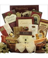 Peace & Prosperity: Medium Chocolate Holiday Christmas Gift Basket SWL-908 - $74.99