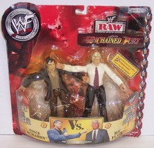 "NEW! '02 Jakk's Unchained Fury ""McMahon"" vs ""Flair"" Action Figure Set WW... - $34.64"