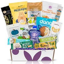 PALEO Diet Snacks Gift Basket: Mix of Whole Foods Protein Bars, Grain Free Grano - $56.54