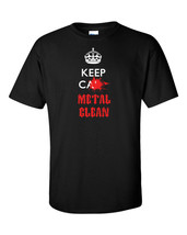 Heavy Metal T-Shirt Black Thrash Doom Power Keep Calm Death Men Music Te... - $23.75+
