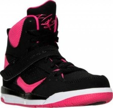 "New Nike JORDAN FLIGHT 45 HI GP sz: 3Y (US 5) ""Vivid Pink"" kids youth 52... - $75.99"