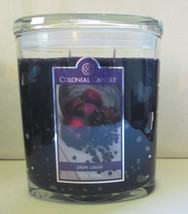 Colonial Candle ~~PLUM CASSIS~~ 22 oz LGE Oval Jar, 2 wick FREE SHIPPING - $38.99