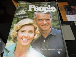 People Magazine , Tom & Barbara Eagleton , 8/5/74 , Ali , George C. Sc... - $29.70