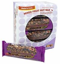 INDI'S Mixed Fruit Nut Bar Palanqueta 24 Packs Mixed Fruit Nut Bar - $34.82
