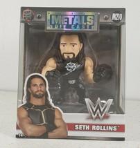 WWE Seth Rollins Metal Die Cast 4 Inch Jada Toys Action Figure M210 Brand New - $29.55