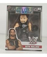 WWE Seth Rollins Metal Die Cast 4 Inch Jada Toys Action Figure M210 Bran... - $30.58