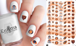 Chicago Bears Nail Decals (Set of 86) - $4.95