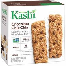 Kashi Crunchy Granola & Seed Bars, Chocolate Chip Chia, 7oz Box (Pack of 4) - $29.90