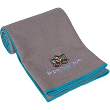 Yoga Towel Super Absorbent Skidless Improves Mat Grip Reduce Injuries Ma... - $23.72