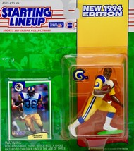 1994 Kenner Starting Lineup NFL Jerome Bettis #36 Los Angeles Rams Actio... - $9.99
